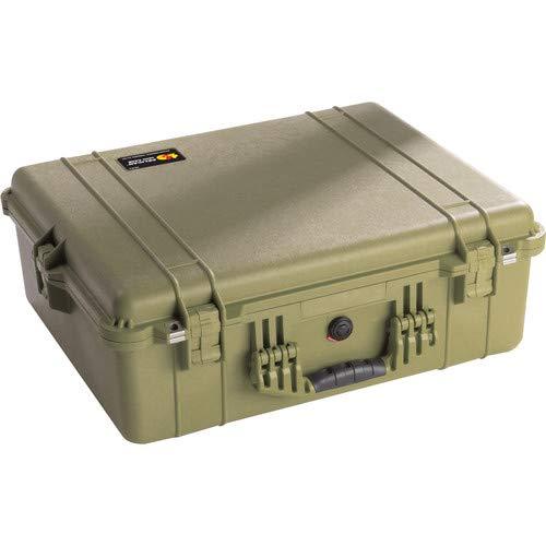 1604 Waterproof 1600 Case with Dividers (Olive Drab Green) [並行輸入品]   B07MMJF1QK