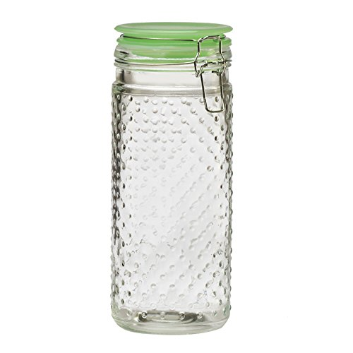Amici Home A7CT003R Emma Jade Hobnail Large Collection Jar-48 oz, 48 oz