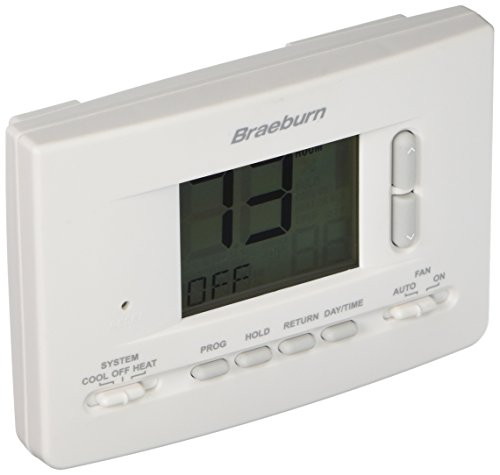 BRAEBURN 2020 Thermostat, Universal 7, 5-2 Day or Non-Programmable, ()