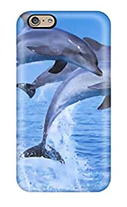 ZippyDoritEduard Case Cover Protector Specially Made For Iphone 6 Dolphins