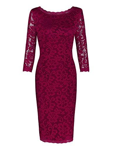Ladies 3/4 Sleeve Dress - 5