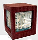 : Solid Wood Deluxe Money Maze Gift Puzzle Holder