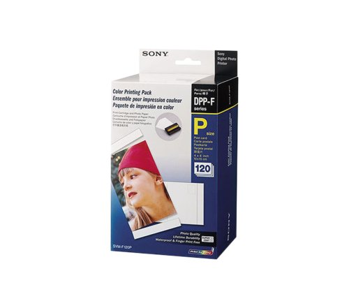 Sony SVM-F120P/2) Photo Printer Paper 120 sheets