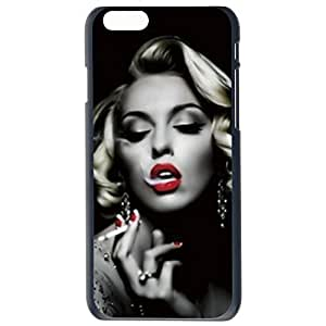 SHARK? Marilyn Monroe Famous And Sexy smoking Hard Plastic Case for Apple Iphone 6(4.7-Inch)