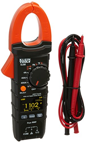 Klein Tools CL330 400A AC Auto-Ranging Digital Clamp Meter,