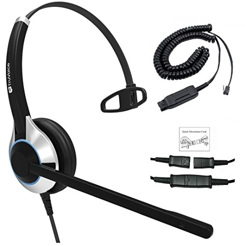 - Deluxe Single Ear Headset with Noise Canceling Microphone and Cable for Avaya IP 1608, 1616, 9601, 9608, 9611, 9611G, 9620, 9621, 9630, 9631, 9640, 9641, 9650, 9670, J139, J169 and J179 Phones