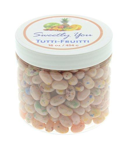 Jelly Belly 1 LB Tutti-Fruitti Flavored Beans.  Bulk Jelly B