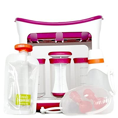 Infantino, Squeeze Station, Create Your Own Baby Food Pouches