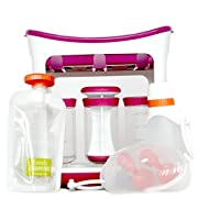 Infantino – DIY Dishwasher Safe Easy to Use Squeeze Station Feeding Kit