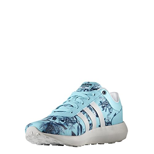 adidas Damen Cloudfoam Race W Sneaker Low Hals, Blau (Agucla/Ftwbla/Maruni), 38 EU
