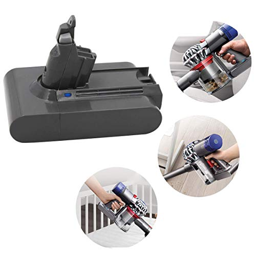 Dyson Battery Dyson Battery Battery Compatible Dyson V6 650 770 DC61 Handheld Vacuum (with Free Dyson
