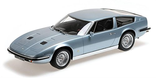 1970 Maserati Indy in Blue Metallic Resin Model Car in 1:18 Scale by Minichamps (Car Minichamps Indy)