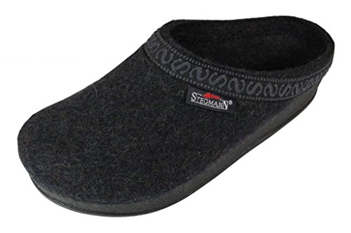 Wool Womens Clogs (Women's Wool-Flex clog L108p Graphite sz)