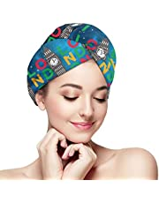 Hair Towel Oh-Chemistree, Oh-Chemistree Magic Instant Dry Hair Towel Ultra Absorbent,Anti-frizz and Ultra Drying