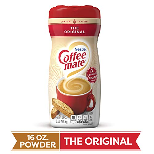 COFFEE MATE The Original Powder Coffee Creamer 16 Oz. Canister | 12 Pack | Non-dairy, Lactose Free, Gluten Free Creamer