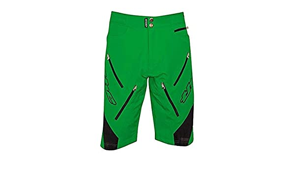812c126e3 The Industries Vent-Tekx BMX and Mountain Bike Shorts - X-Small Green at  Amazon Men s Clothing store