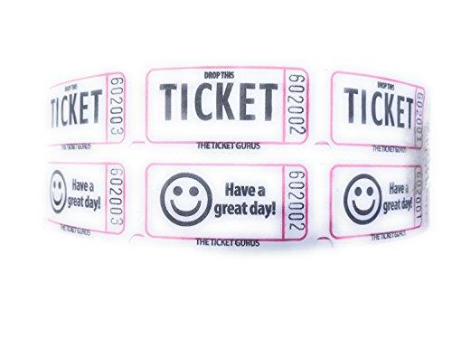 white 50 50 raffle tickets - 4