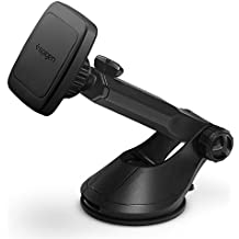 Spigen Kuel H35 Car Phone Mount Universal Magnetic Car Phone Holder with Extendable Arm for Apple iPhone X / 8 / 8 Plus / 7 / 7 Plus / Galaxy S9 / S9 Plus / S8 / S8 Plus / Note 8 and More