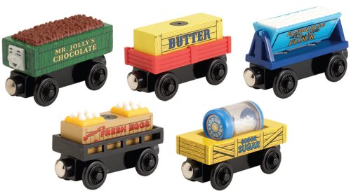 Thomas & Friends Wooden Railway - Cookie Factory Cargo Pack with Rickety Troublesome Truck