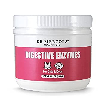 Amazon.com: Dr Mercola saludable mascotas enzimas digestivas ...