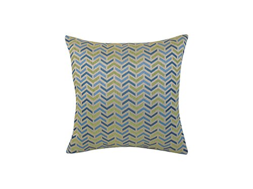 Arlee Mona Woven Geometric Toss Pillow, Ocean