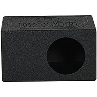 Sale Off Rockville RQB8 Single 8' Side Ported Subwoofer Sub Box Enclosure w/Bed Liner