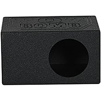 QSOLO8 Qpower Single 8 Sealed Woofer Box Electronics