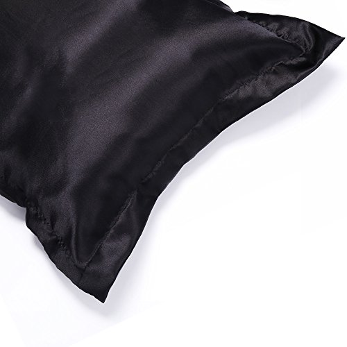 Everso Pair Of 100 Satin Silk Pillowcases For Hair And