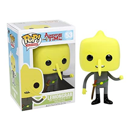 Amazoncom Funko Pop Television Lemongrab Adventure Time Vinyl