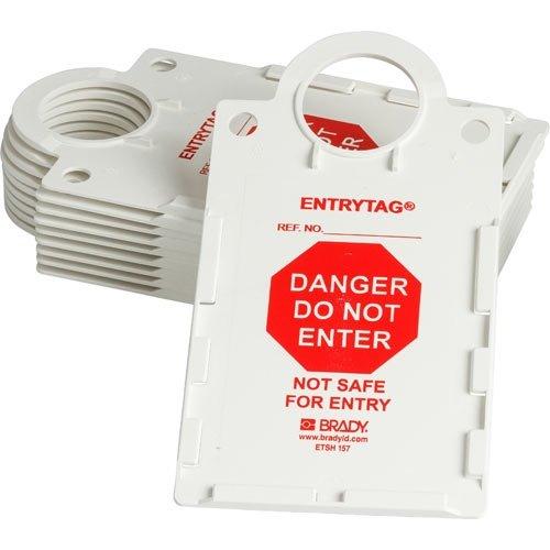 Brady ENT-ETSH157, 104119 Entrytag Holder, Box of 10 pcs