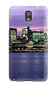 KkMxiVg12182EPfwE Tpu Phone Case With Fashionable Look For Galaxy Note 3 - Chicago City
