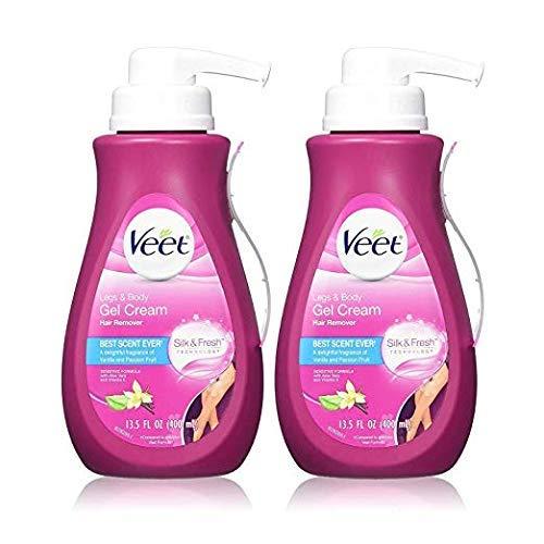 Gel Hair Removal Cream Sensitive, 13.5 Ounce (2 Pack)