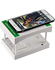 $32 » Rybozen Mobile Film and Slide Scanner, Converts 35mm Slides & Negatives into Digital Photos with Your Smartphone Camera, Interesting Presents and Toys with LED Backlight(2AA Batteries not Included