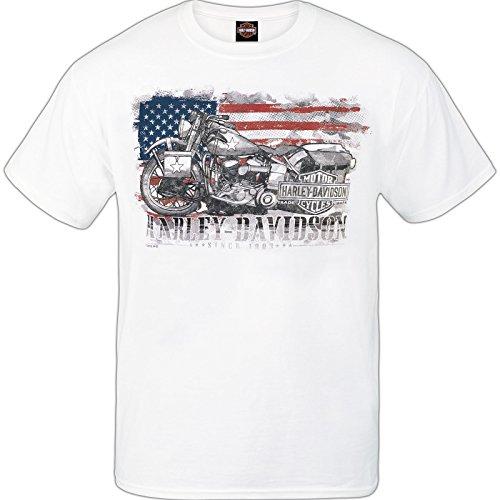 Harley-Davidson Men's Short-Sleeve Tee - Ramstein Air Base (Made in USA) | Hero Bike (Harley Davidson Usa)