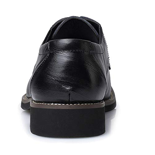 da classiche Pelle casual da Ricreazione Nero in Scarpe Scarpe Pelle Basse per uomo Pelle Scarpe da Uomo Eleganti Business appuntite Stringate Oxford Formal uomo YunYoud Scarpe ZwXqfwB