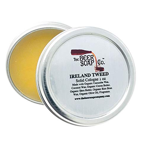 Ireland Tweed Solid Cologne by The Beer Soap Company - 1 oz ()