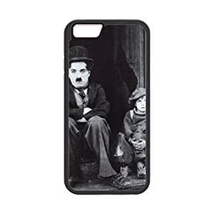 Charles Chaplin iPhone 6 4.7 Inch Cell Phone Case Black Exquisite designs Phone Case KM5H7798
