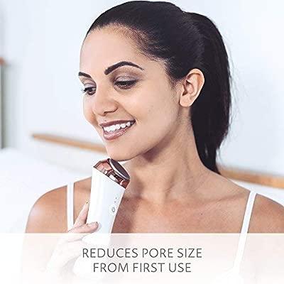 SENSSE Barra Facial Caliente y Frío Ultrasónico – Reduce Enrojecimiento, Bolsas de los Ojos, y Arrugas con Un Masaje Facial Suave Tonificante