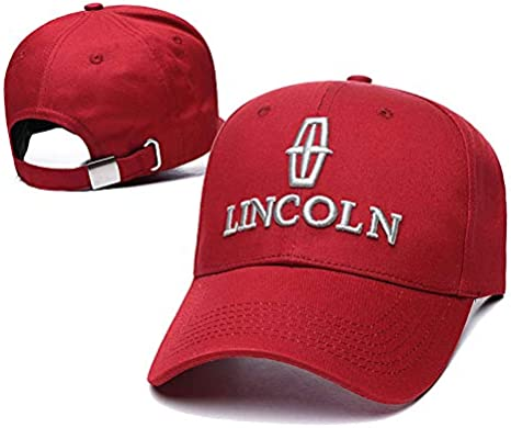 Yoursport Car Logo 3D Embroidered Baseball Cap Men Women Adjustable Hat Travel Cap Fit Lincoln Accessories Navy