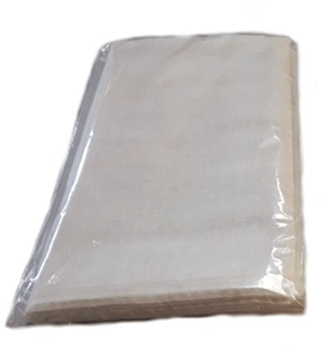 Cheesecloth - 9 Sq. Feet: Grade 90 - Natural Unbleached- Individually Bagged - 100% Cotton - Filter - Strain -Reusable