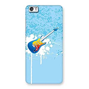 NEO WORLD Sky Guitar Back Case Cover for Xiaomi Redmi Mi5