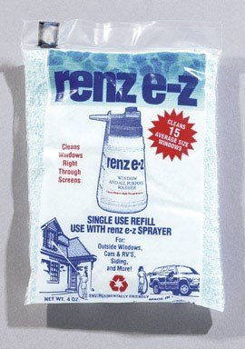 (Renz E-Z All Purpose Window Washer Sprayer Refill Bagged 4 Oz by Remwood)