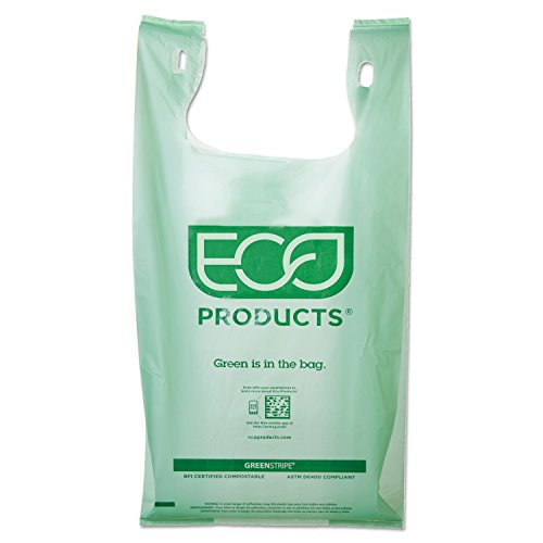 Eco-Products - Compostable BioShopper Bags - Large - EP-CBLS (Case of 500) (Cbl Plate)