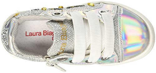 Laura Biagiotti DOLLS L-3434, Zapatillas Para Niñas plateado