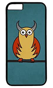Cute Funny Owl Easter Thanksgiving Masterpiece Limited Design PC Black Case for iphone 6 by Cases & Mousepads