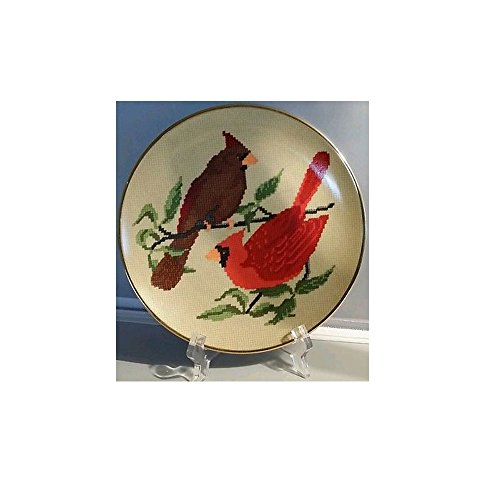 (American Songbird Series in Needlepoint Plate