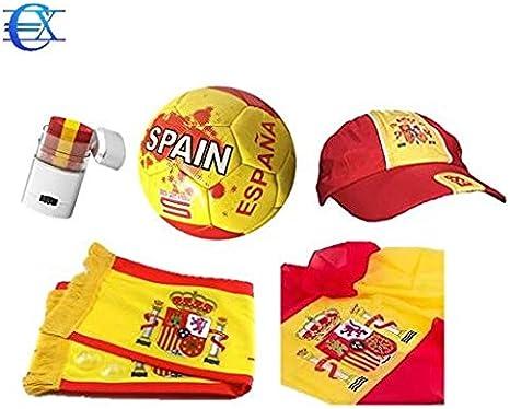 EUROXANTY® Pintura para la Cara de España | Pintura Bandera España | Pintura Selección Española: Amazon.es: Jardín