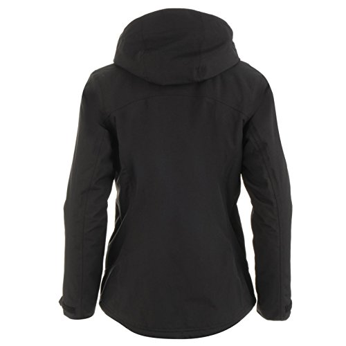 Sleeve Neck Karrimor Funnel Womens Padded Black Top Coat Insulated Jacket Long wqn01Rxqzf