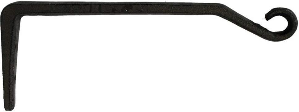 Perchero de ganchos de servicio pesado Antiguos retro barra de gancho jardín de decoración de la pared de hierro fundido Crafts moldeada gancho de hierro de la pared decorativos Decoración montada en