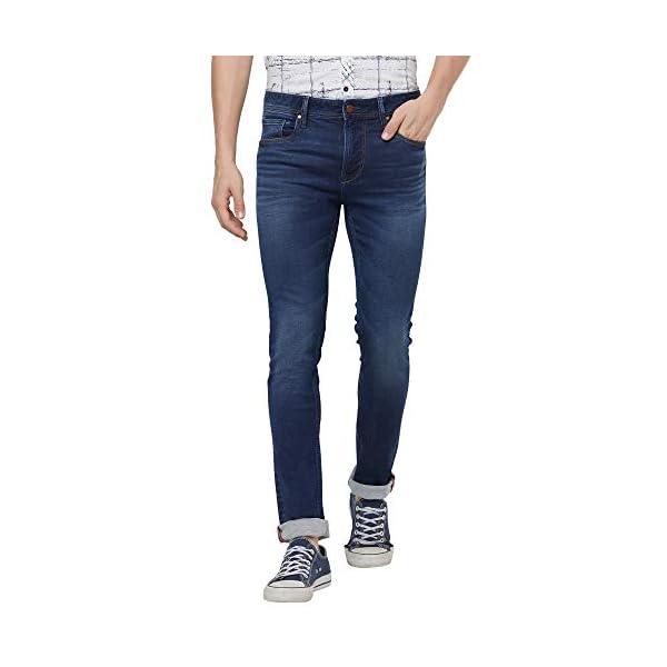 KILLER Men's Slim Fit Jeans 2021 July Care Instructions: Machine Wash Fit Type: Slim Horizon Indigo